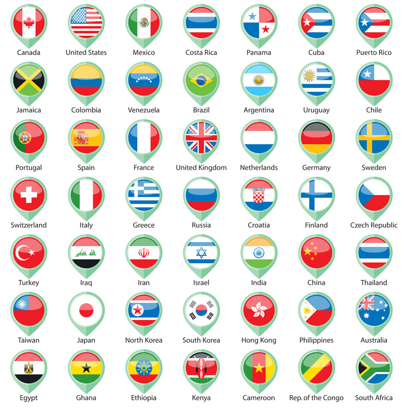 International Flags Pointer CS3