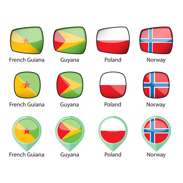 International Flags Sample