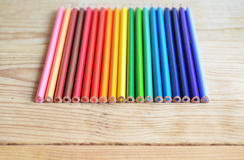 pencil colors low