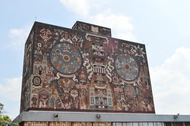 central library UNAM