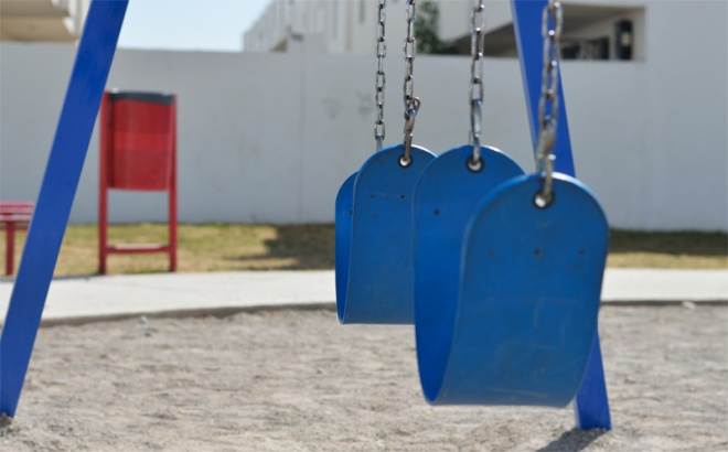 blue swings