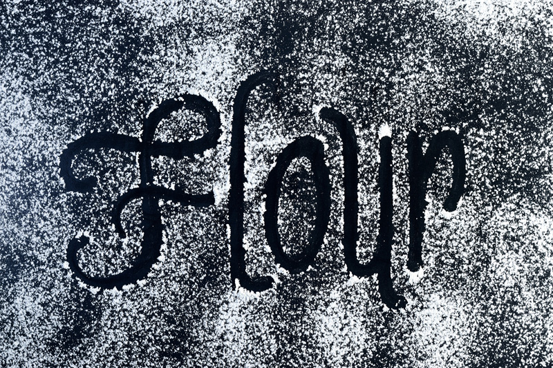 flour word in flour
