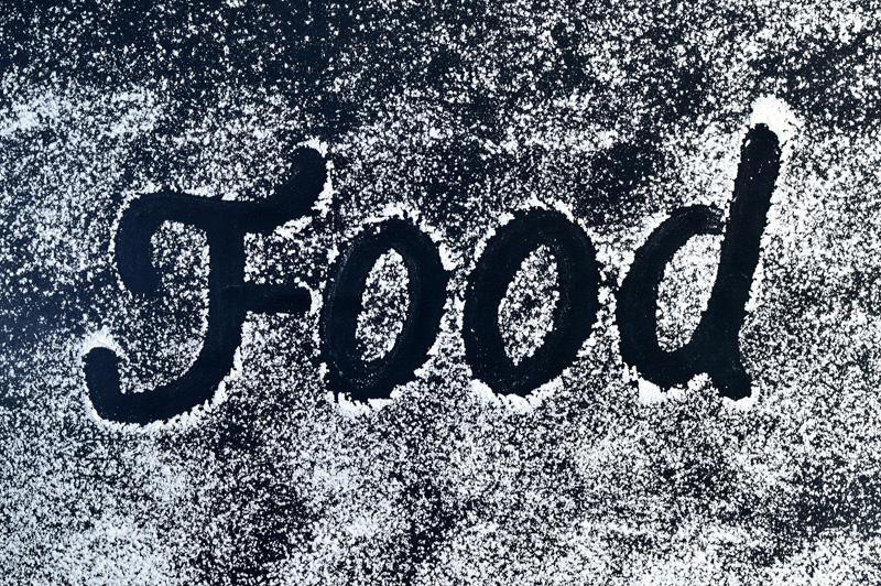 food word in flour
