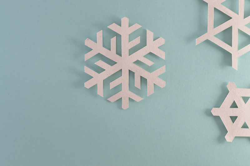 snowflakes background