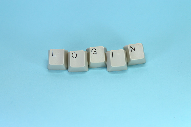 keyboard login