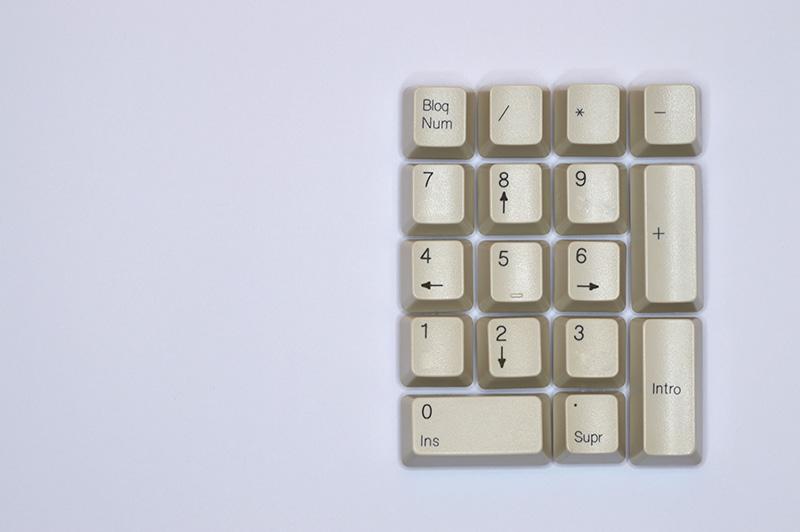 keyboard numbers
