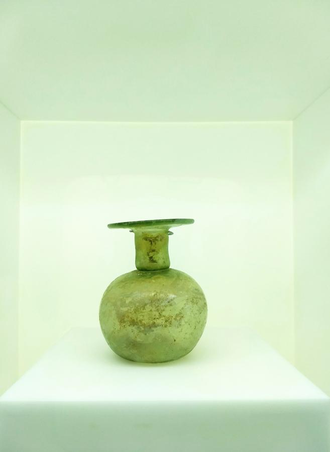 Levant glass jar B-low