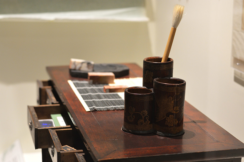 calligrapher's desk