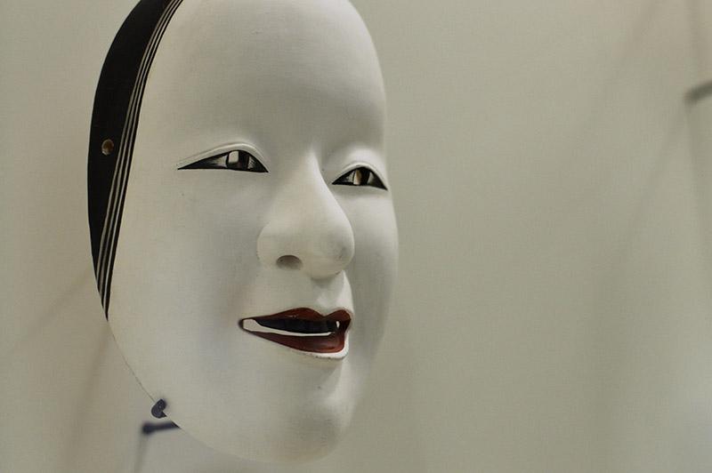 traditional kabuki mask