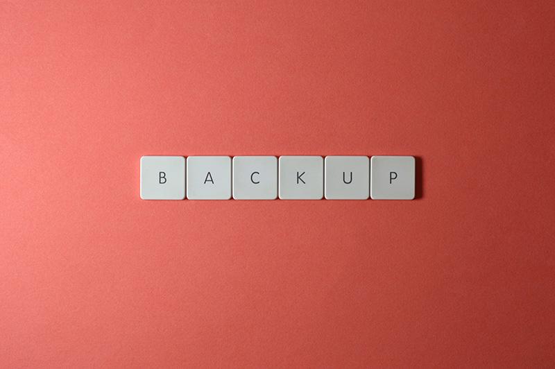 keyboard keys backup