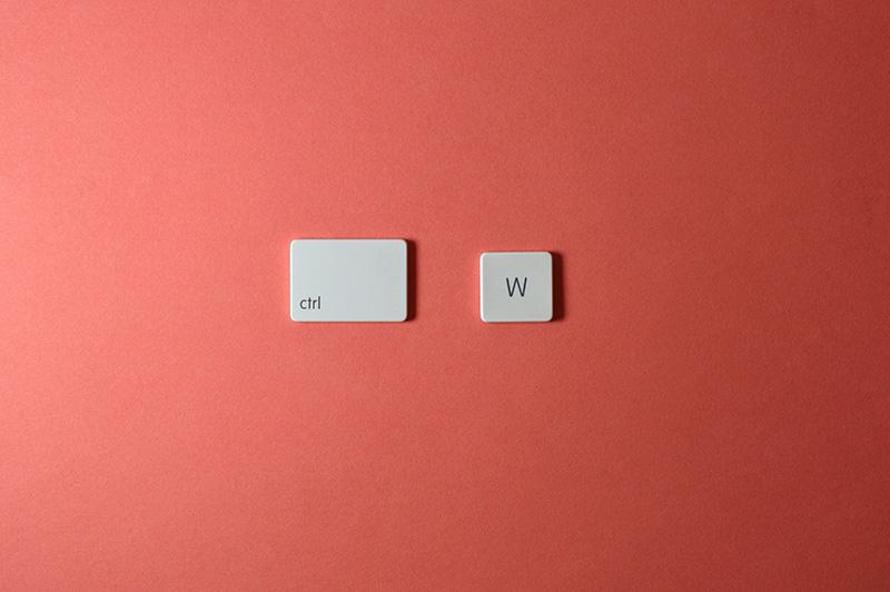 keyboard keys ctrl w