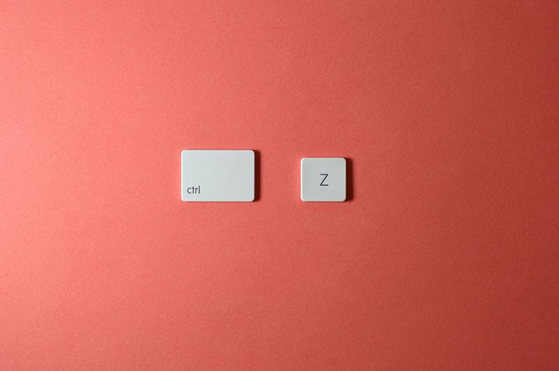 keyboard keys ctrl z