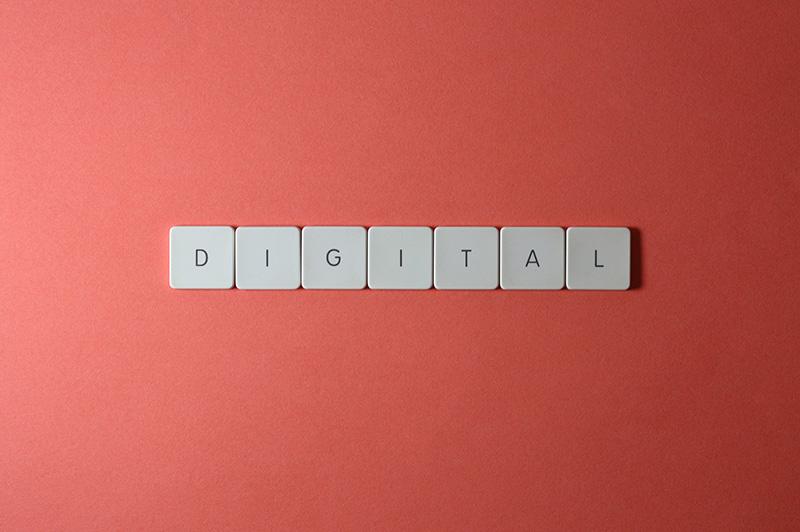 keyboard keys digital