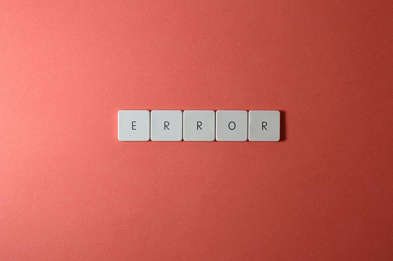 keyboard keys error