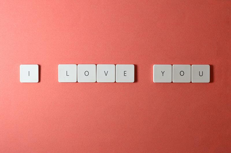 keyboard keys i love you