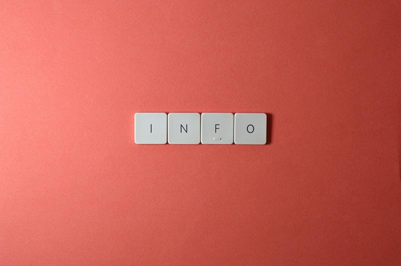 keyboard keys info