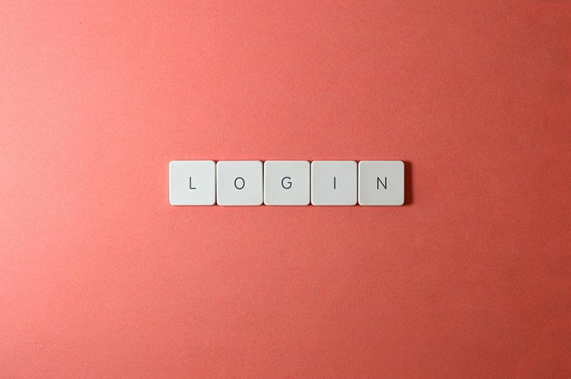 keyboard keys login