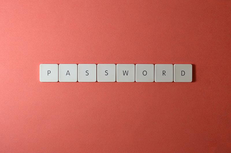 keyboard keys password