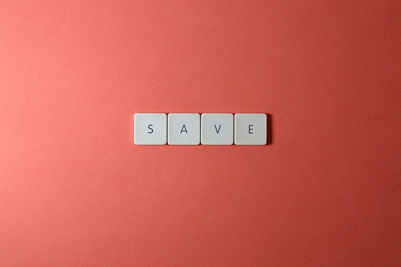 keyboard keys save