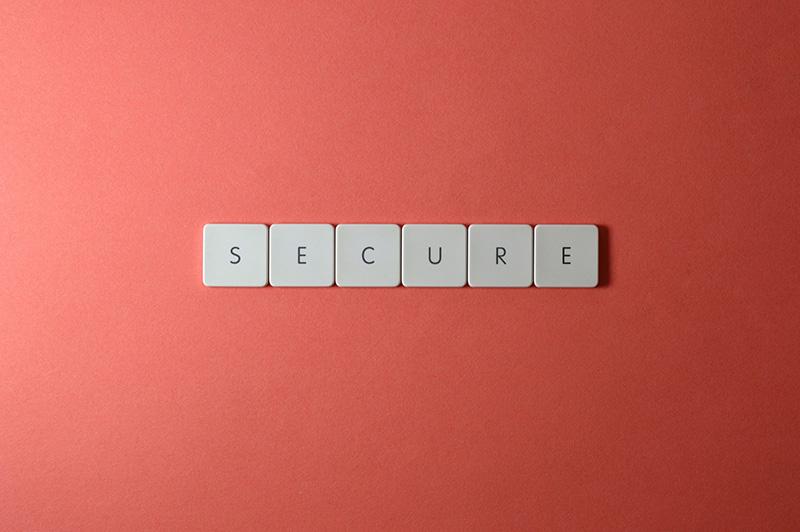 keyboard keys secure